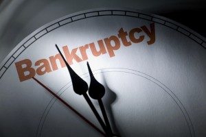 It's time to file for bankruptcy!